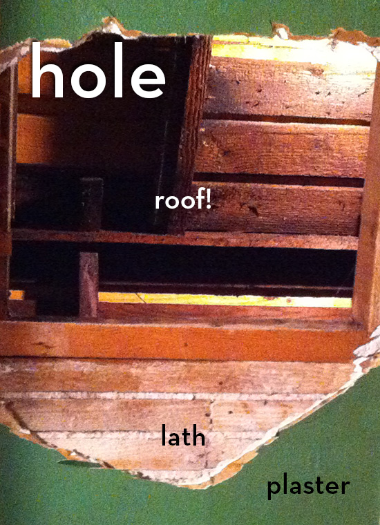ceiling holes, explained.
